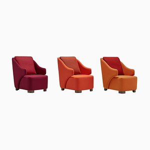Vectis Armchairs by Pepe Albargues, Set of 3