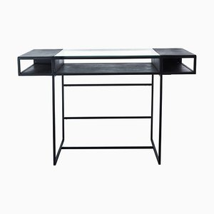 Graphite Secretaire Desk by Pols Potten Studio