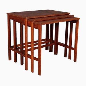 Tavolini ad incastro di Peter Hvidt & Orla Mølgaard-Nielsen per France & Søn / France & Daverkosen, anni '60