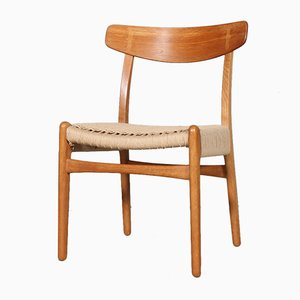 Model 23 Dining Chairs by Hans J. Wegner for Carl Hansen & Søn, 1970s, Set of 4