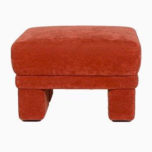 Roter Vintage Hocker von Himolla