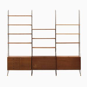 Swedish Wall Unit by Kajsa & Nils ''Nisse'' Strinning for String, 1960s
