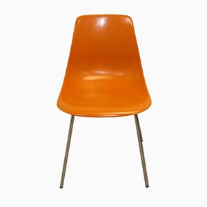 Glasfiber Dining Chair by Georg Leowald Wilkhahn, 1960s