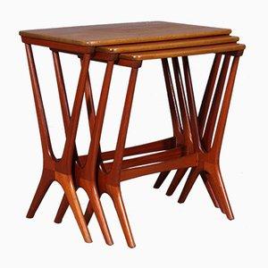 Nesting Tables by Erling Torvits for Heltborg Møbelfabrik, 1960s