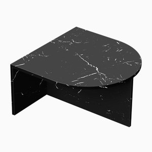 Black Clear Glass Fifty Oblong Coffee Table by Sebastian Scherer