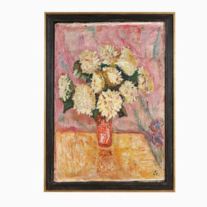 Expressionistisches Gemälde von George Alfred Stock burger