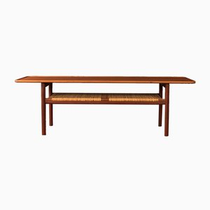 Model AT-10 Coffee Table by Hans J. Wegner for Andreas Tuck, 1950s
