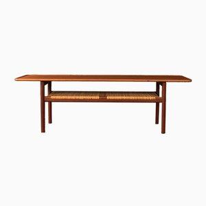 Tavolino da caffè AT-10 di Hans J. Wegner per Andreas Tuck, anni '50