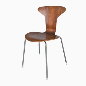 Mid-Century 3105 Side Chair by Arne Jacobsen for Fritz Hansen