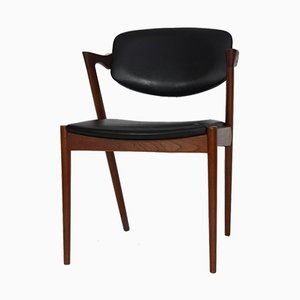 Teak 42 Dining Chair from Schou Andersen, 1950s