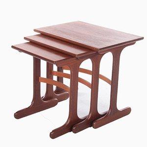 Teak Nesting Tables from G-Plan, 1960s
