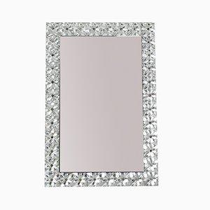 Großer Spiegel mit Rahmen aus Kristallglas von Kinkeldey, 1960er