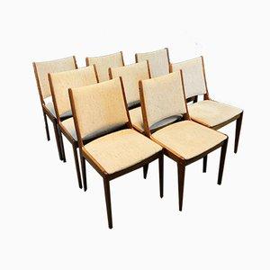 Esszimmerstühle von Johannes Andersen für Uldum Møbelfabrik, 1960er, 8er Set
