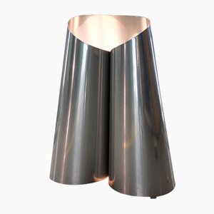 Steel Fold Lamp by Maria Tyakina