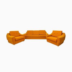 Vintage Sofa & Sessel Set, 1980er