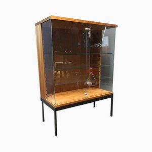 Teak & Glass Display by Dieter Wäckerlin for Behr, 1960s