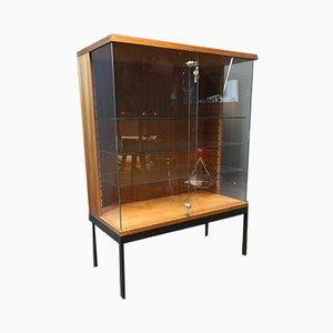 Vetrina in teak e vetro di Dieter Wäckerlin per Behr, anni '60