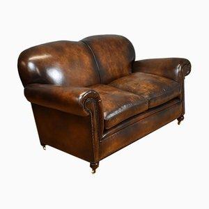 Canapé Antique en Cuir