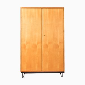 Walnut and Ash Veneer Wardrobe from WK Möbel, 1950s