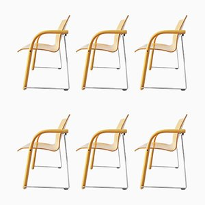 S320 Dining Chairs by Wulf Schneider & Ulrich Böhme for Thonet, 1984, Set of 6