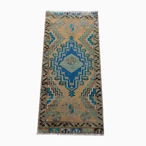 Kleiner türkischer Oushak Yastik Teppich von Vintage Pillow Store Vintage, 1970er