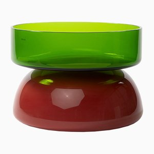 Murano Glass Vase by Ettore Sottsass for Venini, 2009
