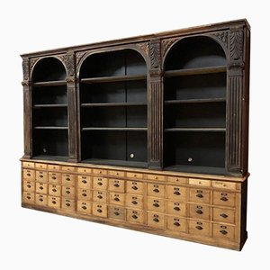 Antique Pharmacy Cabinet