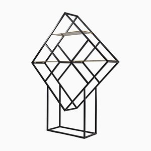 Geometric Diamond Shelving, 1980s