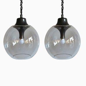 Deckenlampen von Luigi Caccia Dominioni für Azucena, 1967, 2er Set