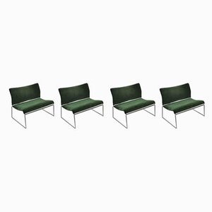 Lounge Chairs by Kazuhide Takahama for Simon International, 1970s, Set of 4