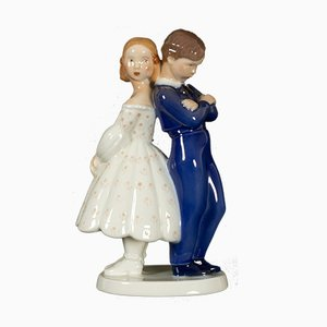 Danish Porcelain Figurine by Claire Weiss for Bing & Grondahl, 1970s