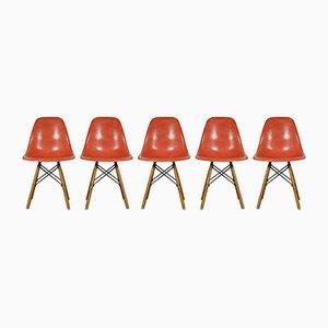 Vintage Beistellstuhl von Charles & Ray Eames für Herman Miller