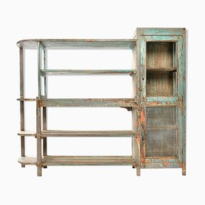 Patinated Wood Shelving, 1940s