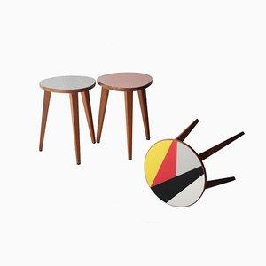 Tables d'Appoint, 1960s, Set de 3