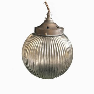 Antique Pendant Lamp from Holophane