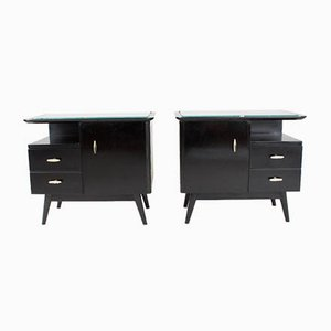 Mid-Century Cabinets, Set of 2