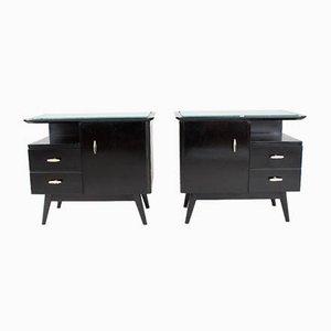 Mid-Century Cabinets, Set of 2