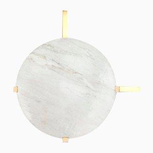 Disc Wandleuchte aus Marmor von Square In Circle