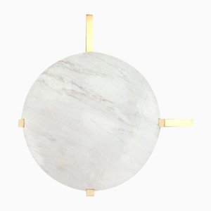 Marble Disc Wall Light by Square In Circle