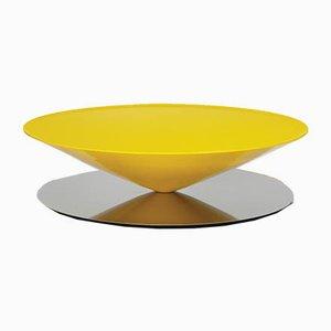 Float Couchtisch aus lackiertem Stahl von Luca Nichetto