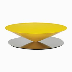 Lacquered Steel Float Coffee Table by Luca Nichetto