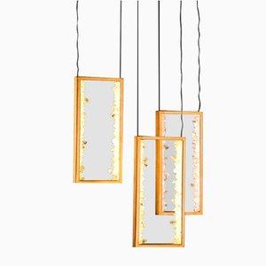 Lámpara colgante Quartz Carbonite de Waldir Junior