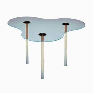 Camo Couchtisch aus Glas von Sebastian Scherer