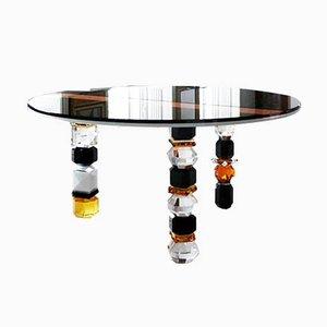 Handgeformter Louisiana Tisch aus Kristallglas von Reflections Copenhagen