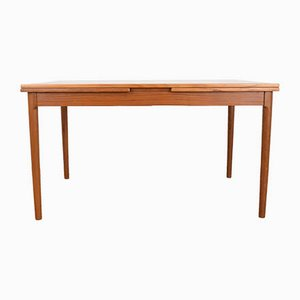 Teak Dining Table by Kaj Winding for Slagelse, 1970s