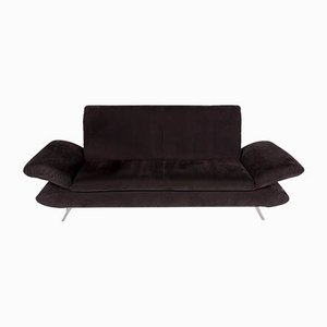 Vintage Anthracite Gray Model Rossini Alcantara 2-Seater Sofa from Koinor