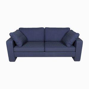 Blaues Vintage 2-Sitzer Sofa von Cor