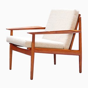 Danish Teak Lounge Chair by Arne Vodder for Glostrup, 1960s