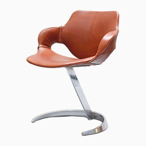 Space Age Side Chair by Boris Tabacoff for Mobilier Modulaire Moderne, 1970s