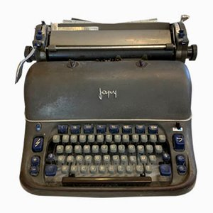 Typewriter from Japy, 1950s